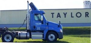 Taylor Distributing truck